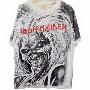 Vintage 1991 Iron Maiden Killers All Over Print